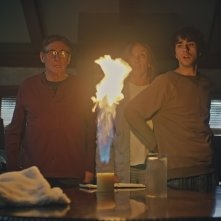 Hereditary: Toni Collette, Gabriel Byrne e Alex Wolff in una scena del film