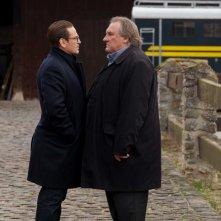 La truffa del secolo: Benoît Magimel e Gérard Depardieu in una scena del film