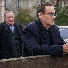 La truffa del secolo: Benoît Magimel e Gérard Depardieu in un momento del film