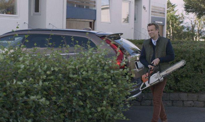L'albero del vicino: un momento del film