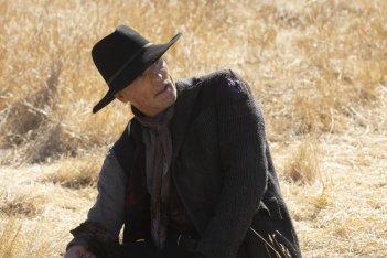 Westworld: Ed Harris in una scena del finale della seconda stagione, The Passenger