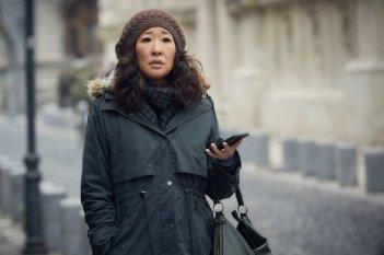 Killing Eve: un momento con Sandra Oh