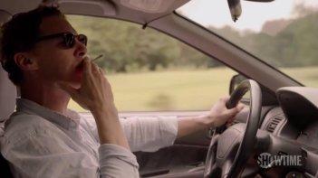 Patrick Melrose: Benedict Cumberbatch in una scena della miniserie