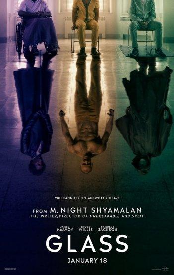 Glass: il poster del film