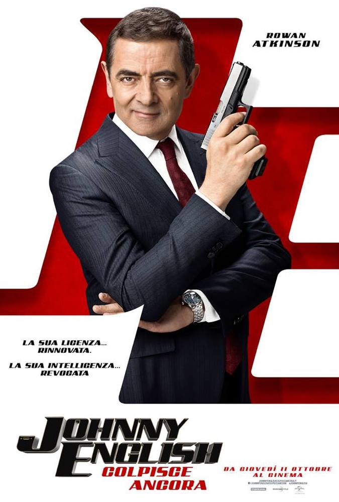 Johnny English Colpisce Ancora Teaser Poster Italia