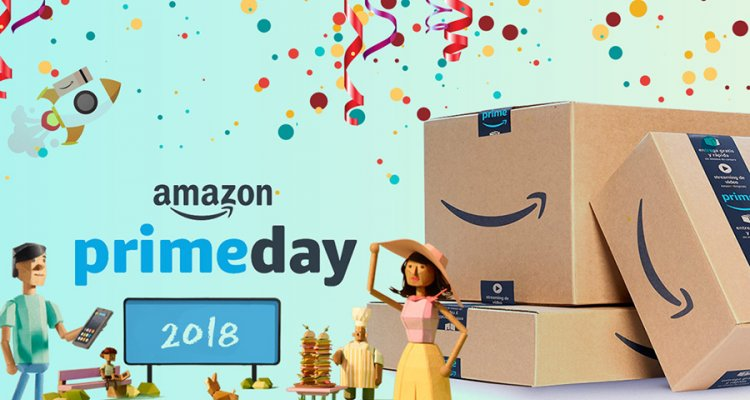 l 39 amazon prime day 2018 scatter il 16 luglio 36 ore di offerte e promozioni. Black Bedroom Furniture Sets. Home Design Ideas