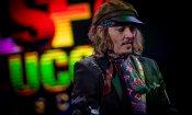 Johnny Depp a Lucca con gli Hollwyood Vampires, un pirata col rock nel DNA