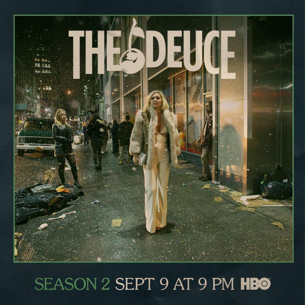 The Deuce: il poster della seconda stagione