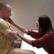 Glass: James McAvoy e Anya Taylor-Joy in una foto del film