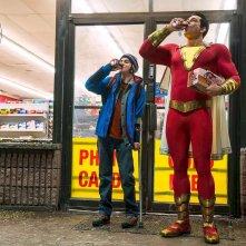 Shazam! - Zachary Levi in una foto del film