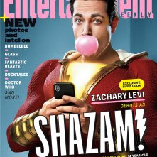 Shazam!, la copertina di Entertainment Weekly