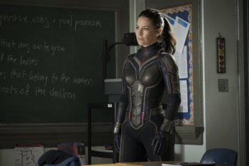 Ant-Man and the Wasp: Evangeline Lilly in una scena del film