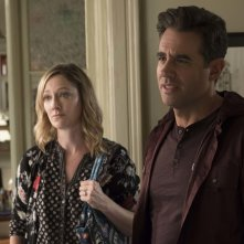 Ant-Man and the Wasp: Judy Greer e Bobby Cannavale in una scena del film