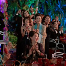 Crazy & Rich: Michelle Yeoh in una scena del film