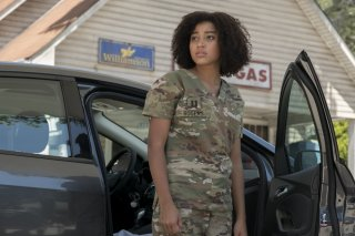 Darkest Minds: Amandla Stenberg in una scena del film