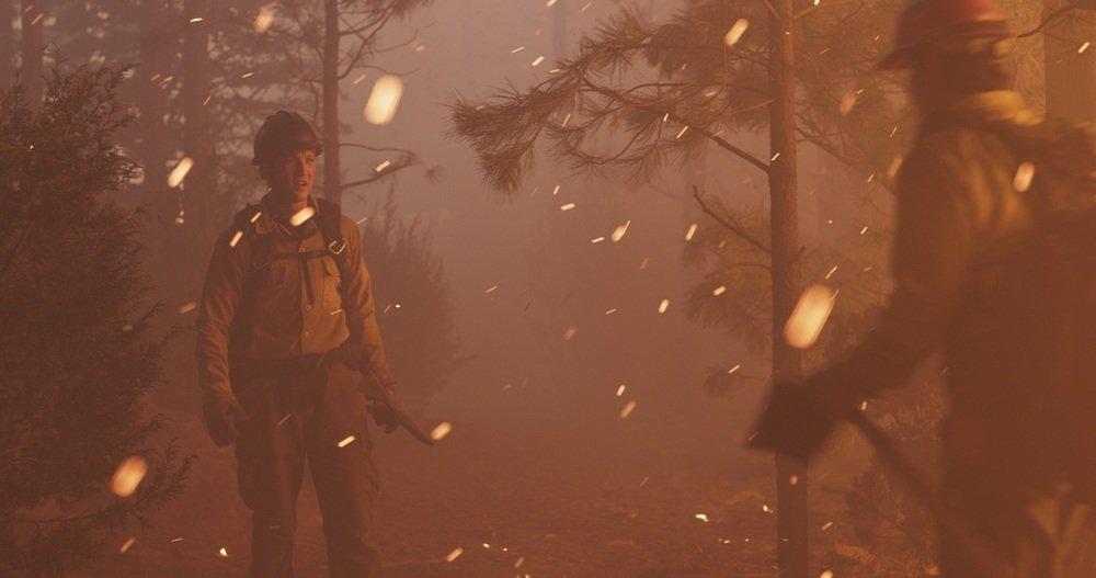 Fire Squad - Incubo di fuoco: Miles Teller in una scena del film