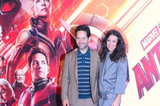 Ant-Man and the Wasp: uno scatto di Evangeline Lilly e Paul Rudd al photocall