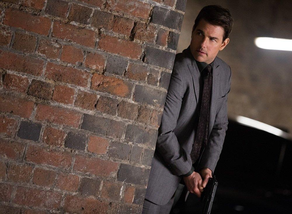 Mission: Impossible - Fallout: Tom Cruise in un momento del film