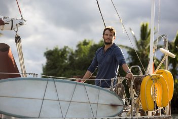 Resta con me: Sam Claflin in un'immagine del film
