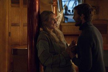 Resta con me: Shailene Woodley e Sam Claflin in un'immagine del film