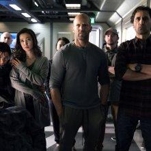 Shark - Il primo squalo: Jason Statham, Cliff Curtis, Li Binbing, Ruby Rose e Page Kennedy in un'immagine del film
