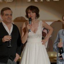 Un marito a metà: Valérie Bonneton, Didier Bourdon e Isabelle Carré in una scena del film