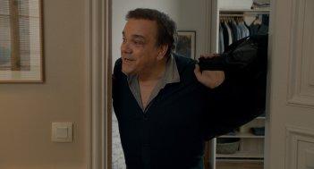 Un marito a metà: Didier Bourdon in una scena del film