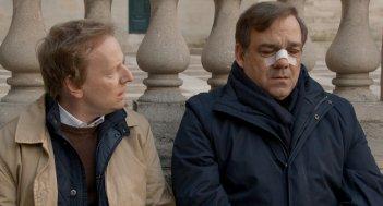 Un marito a metà: Didier Bourdon e Laurent Stocker in una scena del film