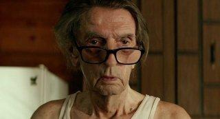 Lucky: Harry Dean Stanton in un momento del film