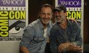 """The Walking Dead: il """"romantico"""" addio di Jeffrey Dean Morgan a Andrew Lincoln!"""