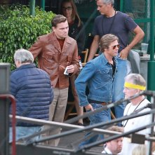 Once Upon A Time in Hollywood: Leonardo DiCaprio e Brad Pitt sul set