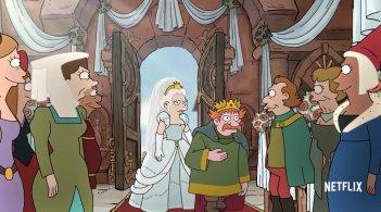 Disincanto: un momento della serie animata