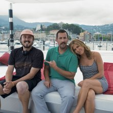 Murder Mystery: Jennifer Aniston e Adam Sandler in Italia col regista Kyle Newacheck