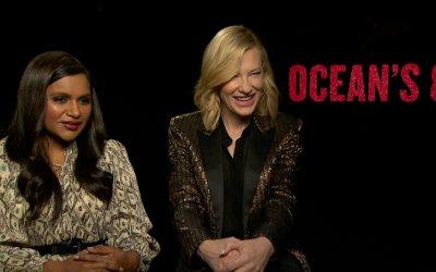 """Cate Blanchett e Mindy Kaling su Ocean's 8: """"Film al femminile? Più ce ne sono, meglio è"""""""