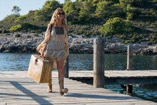 Mamma mia! Ci risiamo: Lily James in una scena del film