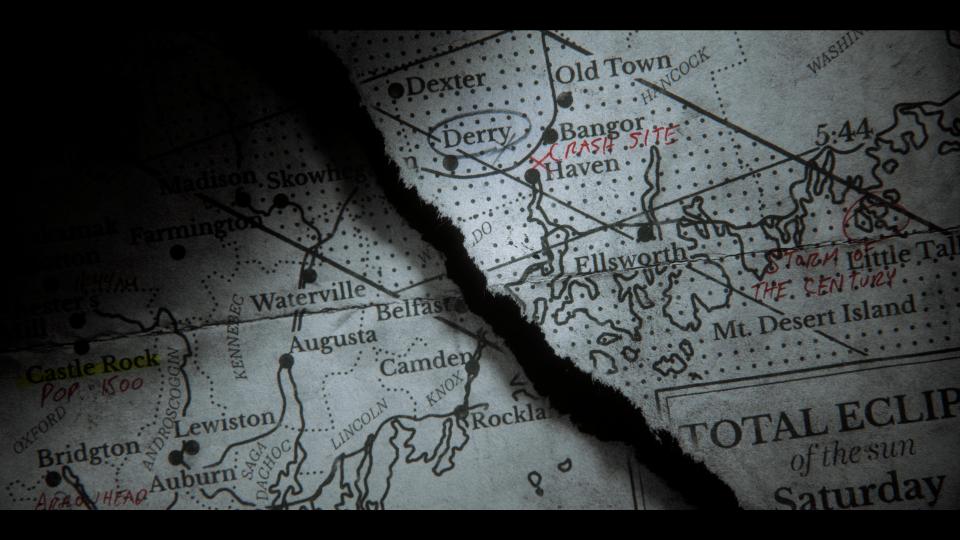 Castle Rock Mappa Titoli Testa