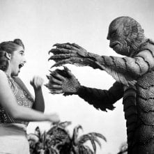 Il mostro della laguna nera: una scena del film