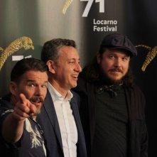 Blaze: Ethan Hawke, Ben Dickey e il produttore John Sloss a Locarno 71