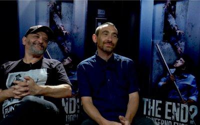 Manetti Bros, i produttori The End? L'inferno fuori su claustrofobia, ascensori... e zombie!