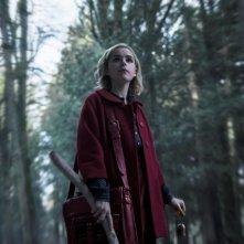 Le terrificanti avventure di Sabrina: Kiernan Shipka in un'immagine della prima stagione