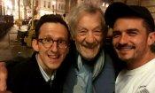 Orlando Bloom e Ian McKellen: la reunion de il Signore degli Anelli con selfie!