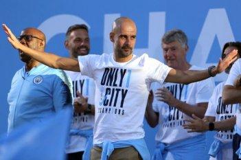 Manchester City Premier League Trophy Parade