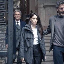 Acusada: Daniel Fanego, Lali Espósito e Leonardo Sbaraglia in una scena del film