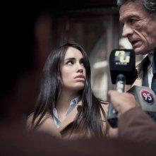 Acusada: Lali Espósito e Daniel Fanego in una scena del film