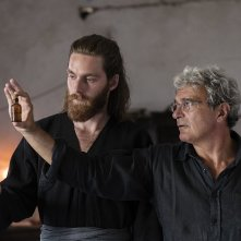 Capri - Revolution: Mario Martone e Reinout Scholten van Aschat sul set del film
