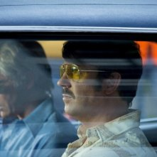 Driven: Lee Pace e Jason Sudeikis in una scena del film