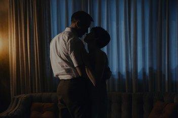 First Man: Ryan Gosling e Claire Foy in una foto del film