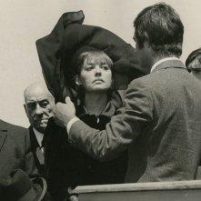 La sposa in nero: Jeanne Moreau in una scena