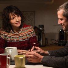 Non-Fiction: Guillaume Canet e Juliette Binoche in una scena del film