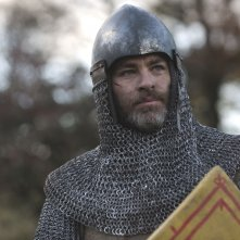 Outlaw King: Chris Pine in una foto del film